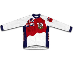 Bermuda Flag Winter Thermal Cycling Jersey