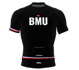 Bermuda Black CODE Short Sleeve Cycling PRO Jersey for Men and Women