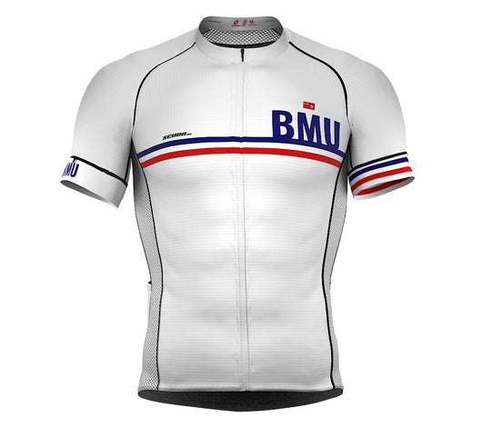 Bermuda White CODE Short Sleeve Cycling PRO Jersey for Men and WomenBermuda White CODE Short Sleeve Cycling PRO Jersey for Men and Women