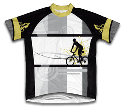 Biker Line Short Sleeve Cycling Jersey for Men and Women