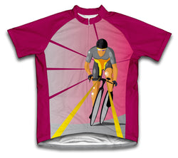 Biker Rays Short Sleeve Cycling Jersey for Men and Women