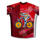 Bionic Cyclist Short Sleeve Cycling Jersey for Men and Women