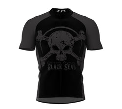 Black Seal Cycling Jersey Short Sleeve for Men and Women