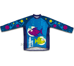 Bloop Bloop Winter Thermal Cycling Jersey