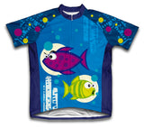 Bloop Bloop Short Sleeve Cycling Jersey for Men and Women