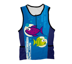 Bloop Bloop Triathlon Top