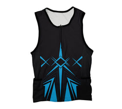 Blue Jet Triathlon Top