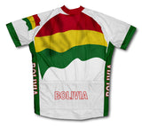 Bolivia Flag Cycling Jersey for Men and Women