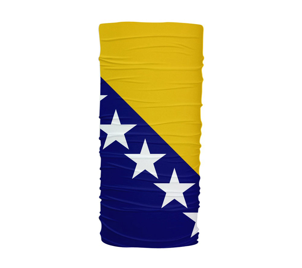 Bosnia And Herzegovina Flag Multifunctional UV Protection Headband