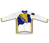 Bosnia And Herzegovina Flag Cycling Jersey for Men and Women