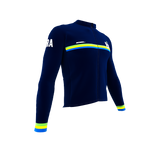 ScudoPro Pro Thermal Long Sleeve Cycling Jersey Country CODE Brasil | Men and Women