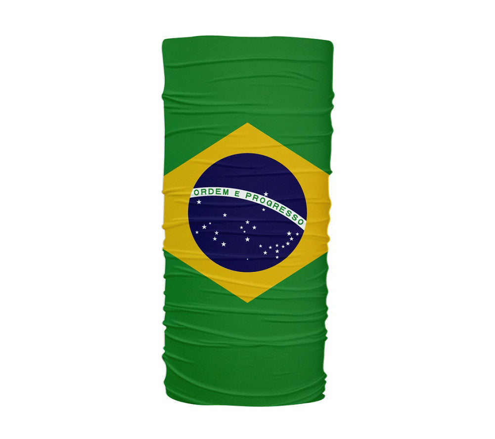 Brasil Flag Multifunctional UV Protection Headband