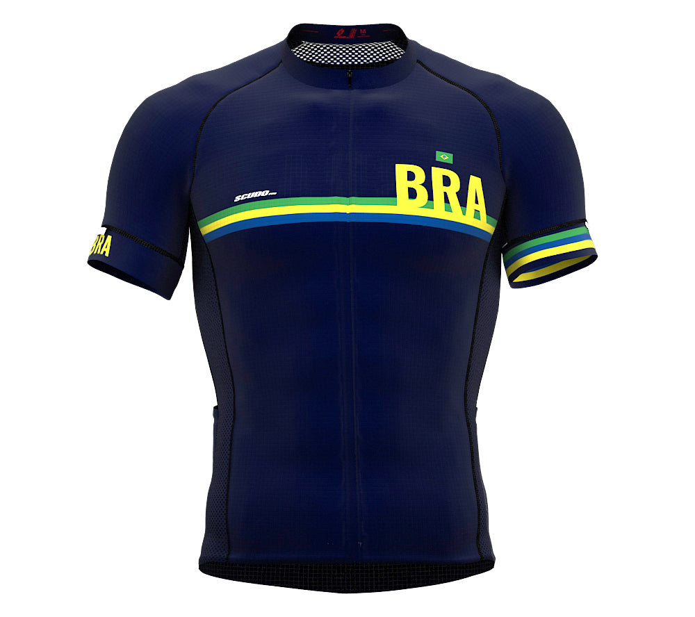 Brasil Blue CODE Short Sleeve Cycling PRO Jersey for Men and WomenBrasil Blue CODE Short Sleeve Cycling PRO Jersey for Men and Women
