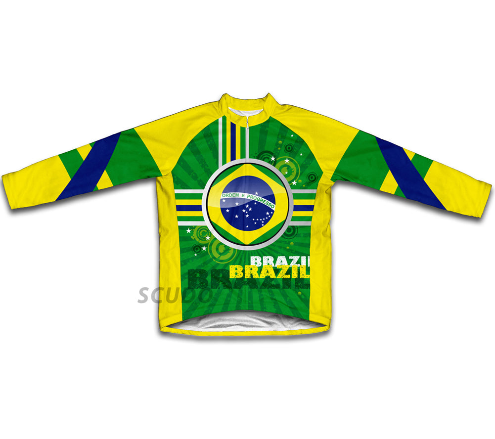 Brazil Winter Thermal Cycling Jersey