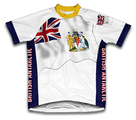 British Antarctic Flag Cycling Jersey for Men and Women