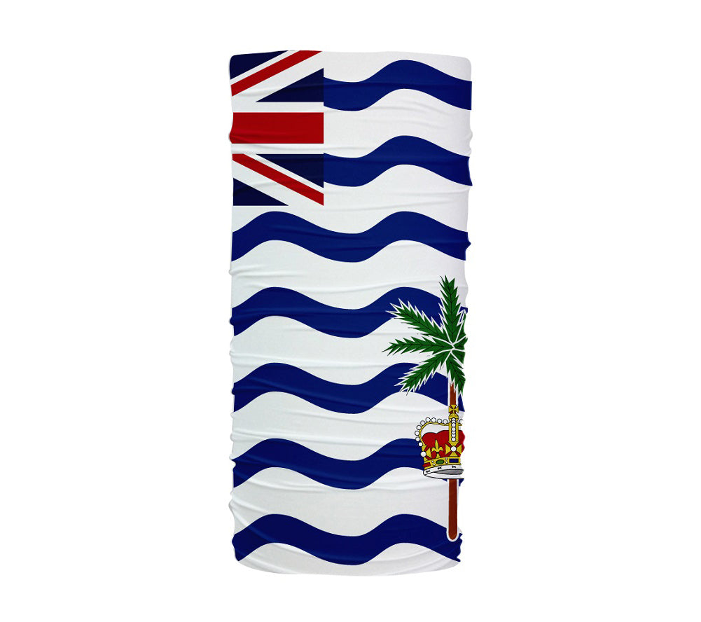 British Indian Ocean Territory Flag Multifunctional UV Protection Headband