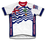 British Indian Ocean Territory Flag Cycling Jersey for Men and Women