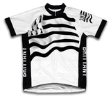 Brittany Flag Cycling Jersey for Men and Women