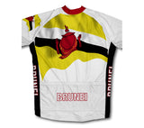 Brunei Flag Winter Thermal Cycling Jersey