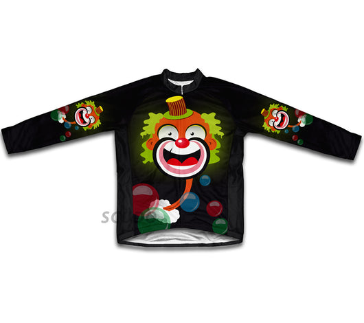 Bubbly Clown Winter Thermal Cycling Jersey