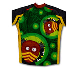 Buga Buga Short Sleeve Cycling Jersey for Men and Women