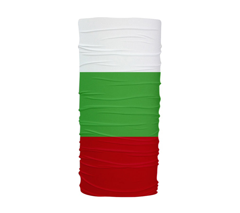 Bulgaria Flag Multifunctional UV Protection Headband