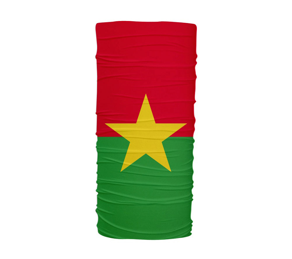 Burkina Faso Flag Multifunctional UV Protection Headband