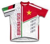 Burkina Faso ScudoPro Cycling Jersey for Men and Women