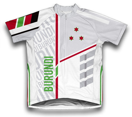 Burundi ScudoPro Cycling Jersey for Men and Women