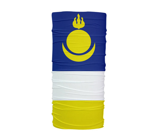 Buryatia Flag Multifunctional UV Protection Headband