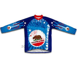 California Winter Thermal Cycling Jersey