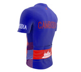 Cambodia  Full Zipper Bike Short Sleeve Cycling Jersey