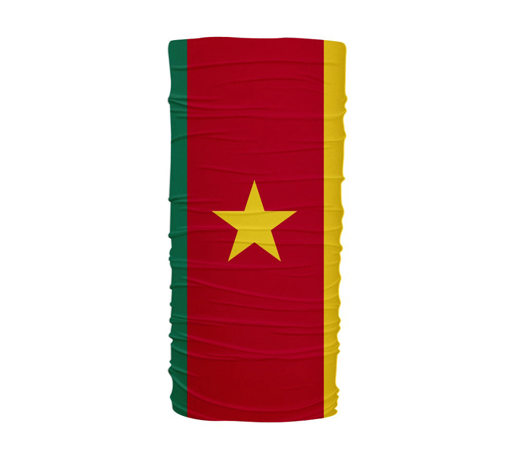 Cameroon Flag Multifunctional UV Protection Headband