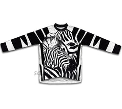 Camo Zebra Winter Thermal Cycling Jersey