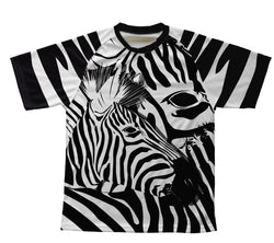 Camo Zebra Technical T-Shirt for Men and Women