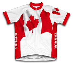 Canada Flag Cycling Jersey for Men and Women