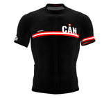 Canada Black CODE Short Sleeve Cycling PRO Jersey for Men and WomenCanada Black CODE Short Sleeve Cycling PRO Jersey for Men and Women