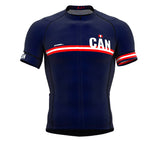 Canada Blue CODE Short Sleeve Cycling PRO Jersey for Men and WomenCanada Blue CODE Short Sleeve Cycling PRO Jersey for Men and Women