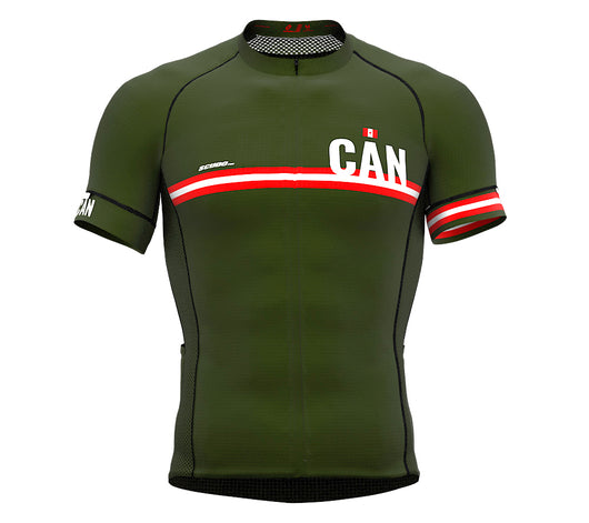Canada Green CODE Short Sleeve Cycling PRO Jersey for Men and WomenCanada Green CODE Short Sleeve Cycling PRO Jersey for Men and Women