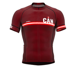 393a2f21187 Canada Vine CODE Short Sleeve Cycling PRO Jersey for Men and WomenCanada  Vine CODE Short Sleeve