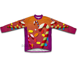 Candy Paradise Winter Thermal Cycling Jersey