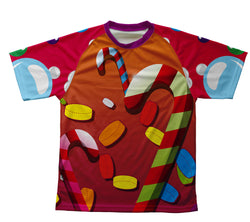 Candy Paradise Technical T-Shirt for Men and Women