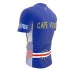 Cape Verde  Full Zipper Bike Short Sleeve Cycling Jersey