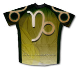Capricorn Short Sleeve Cycling Jersey for Men and Women