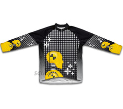 Caution Crashers Winter Thermal Cycling Jersey