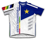 Central African Republic ScudoPro Cycling Jersey for Men and Women