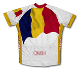Chad Flag Cycling Jersey for Men and Women