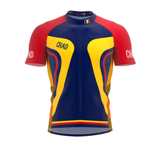 Chad  Full Zipper Bike Short Sleeve Cycling Jersey