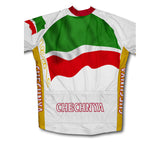 Chechnya Flag Cycling Jersey for Men and Women