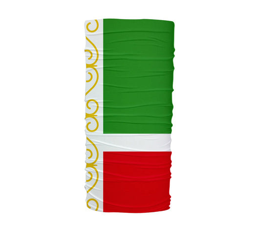 Chechnya Flag Multifunctional UV Protection Headband